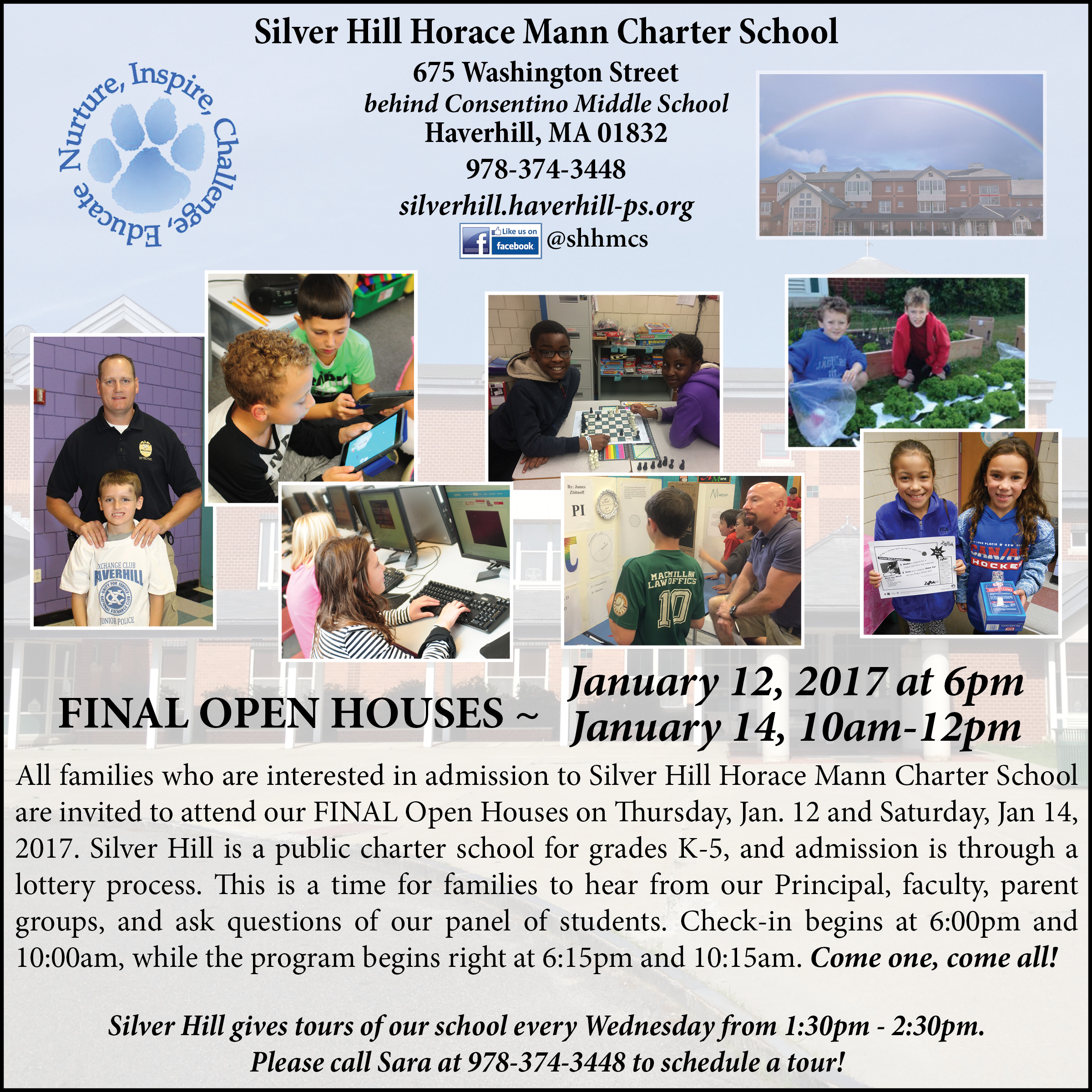 SHHMCS Open House Ad 2017 update